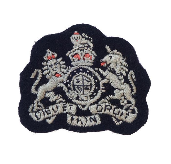 RAF Warrant Officer Embroidered Arm Badge (KC)