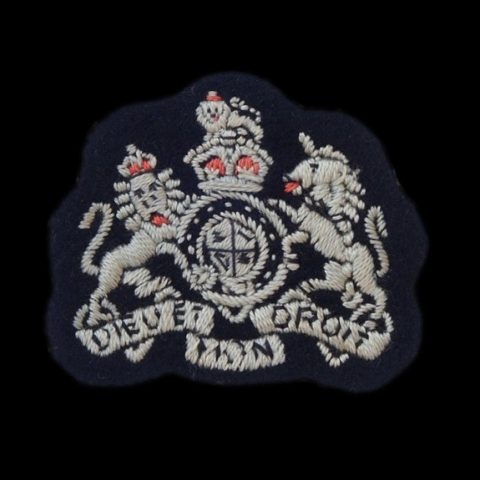 RAF Warrant Officer, Embroidered Arm Badge