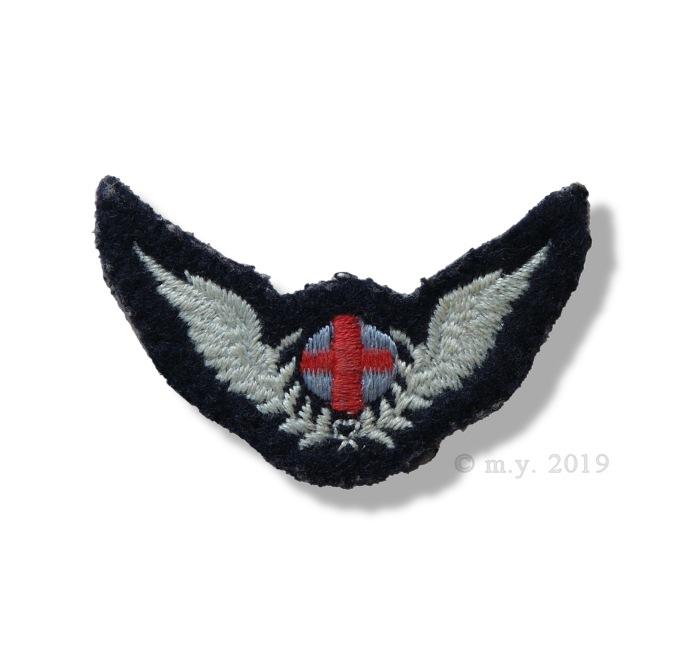 RAF Flight Nursing Attendant Arm Badge
