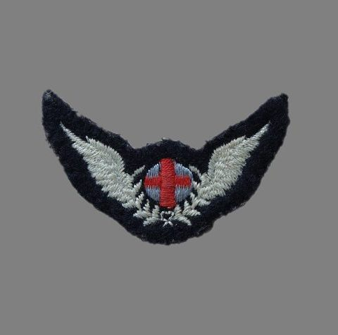 RAF Flight Nursing Attendant Arm Badge