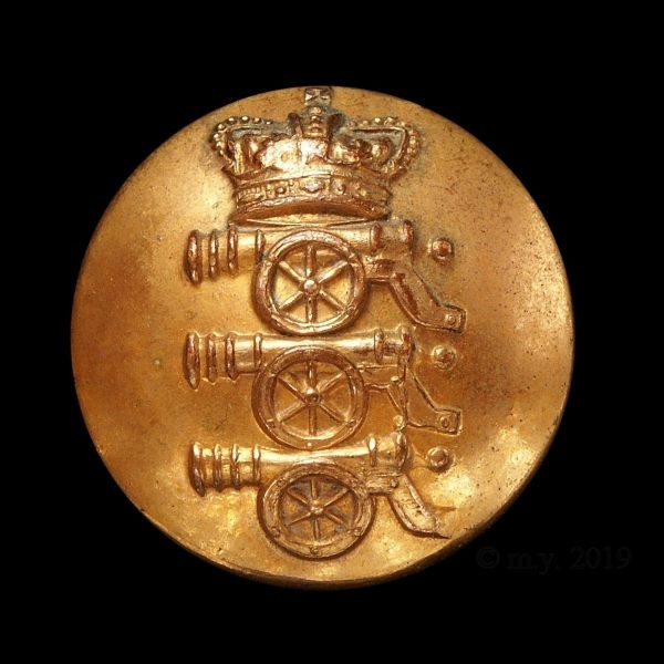 Royal Artillery Button 1855-1873