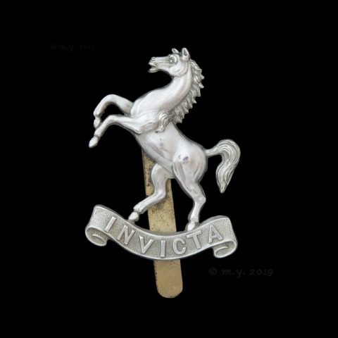 The Queen's Own West Kent Yeomanry (Hussars) Cap Badge