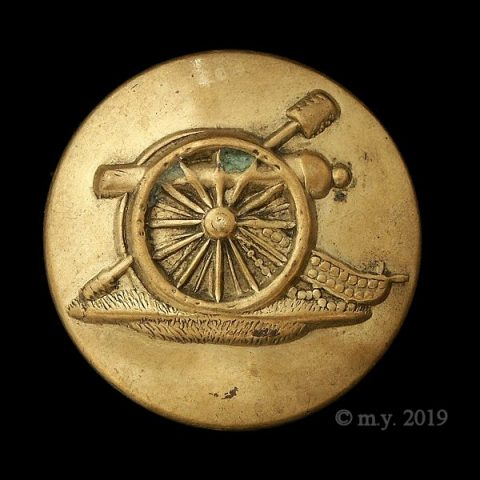 Victorian Permanent Artillery Uniform Button 1893-1903