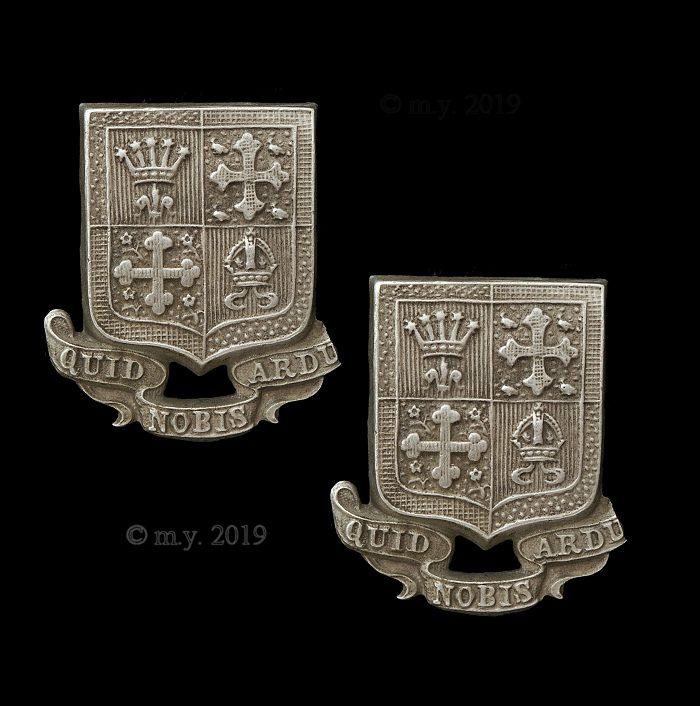 13th County of London Battalion (Kensington) Collar Badges