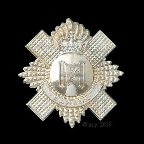 Highland Fusiliers of Canada Cap Badge