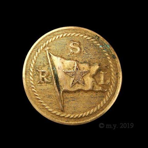 Red Star Line Shipping Merchant Navy Uniform Button