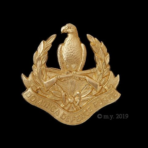 Dominica Defence Force Cap Badge