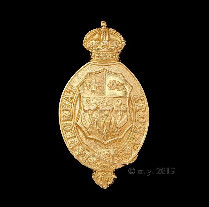 Eton College Combined Cadet Force Cap Badge