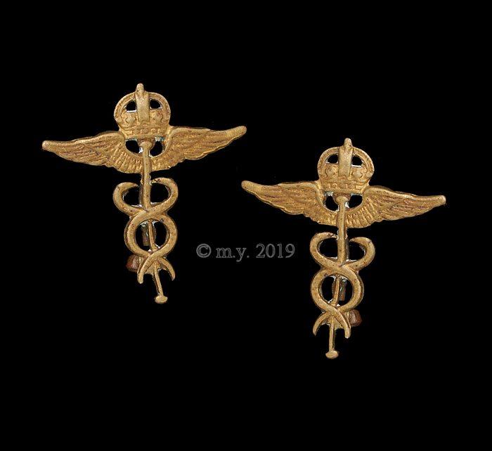Royal Air Force Medics Collar Badges