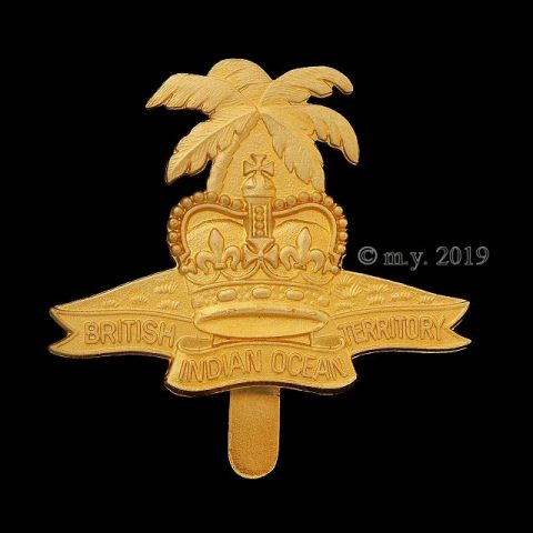 British Indian Ocean Territory Cap Badge