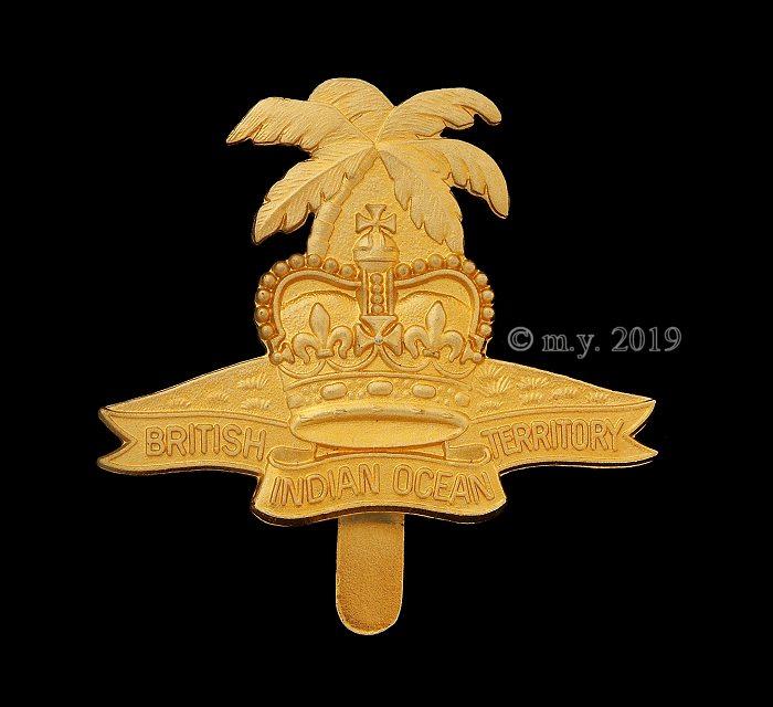 British Indian Ocean Territory Cap Badge