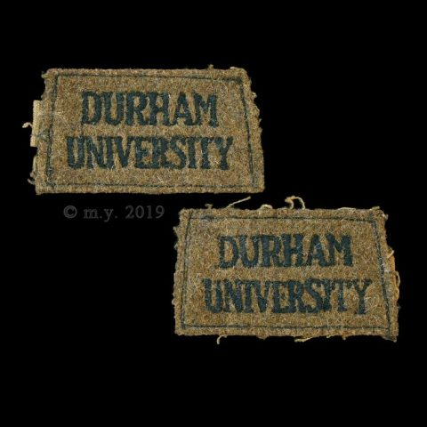Durham University Officers' Training Corps Slip-on Shoulder Titles