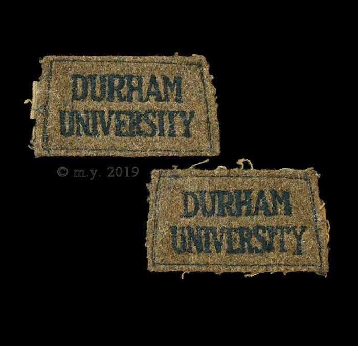 Durham University Officer Training Corps Slip-on Shoulder Titles