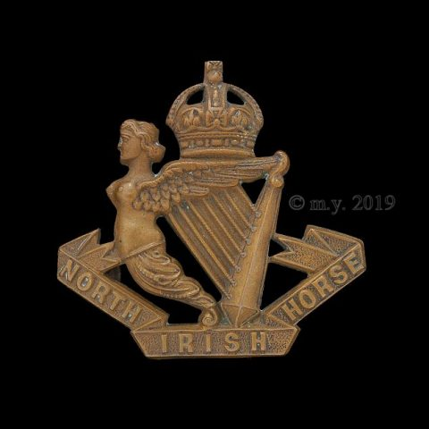 North Irish Horse Cap Badge