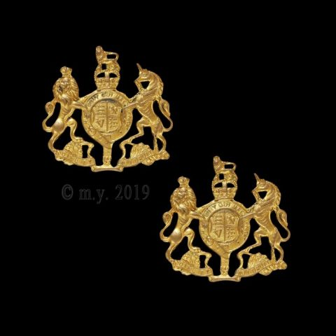 Royal Navy Fleet Chief Petty Officer Collar Badges