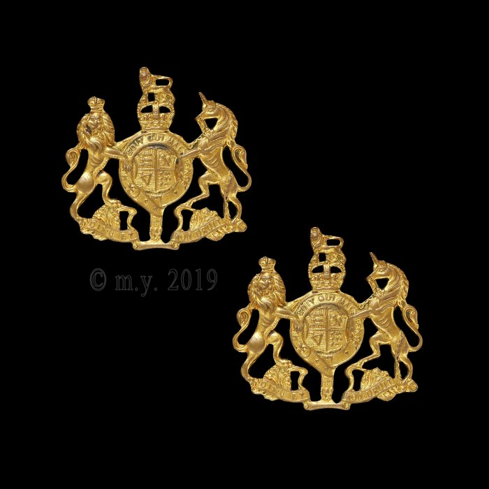 Royal Navy Fleet Chief Petty Officer Collar Badges