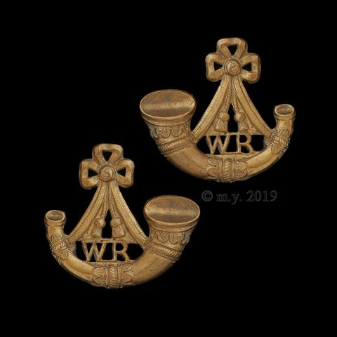 Witwatersrand Rifles Collar Badges