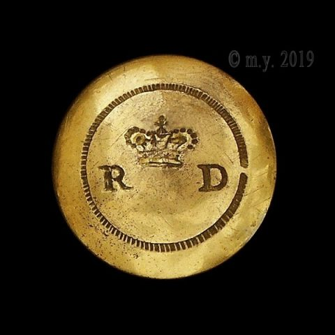 1st (Royal) Dragoons Uniform Button