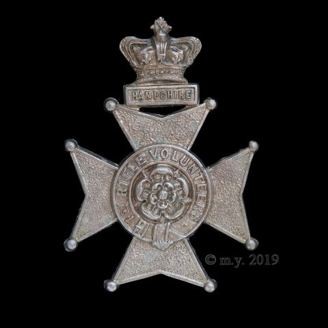 1st Hampshire Rifle Volunteers Glengarry Badge