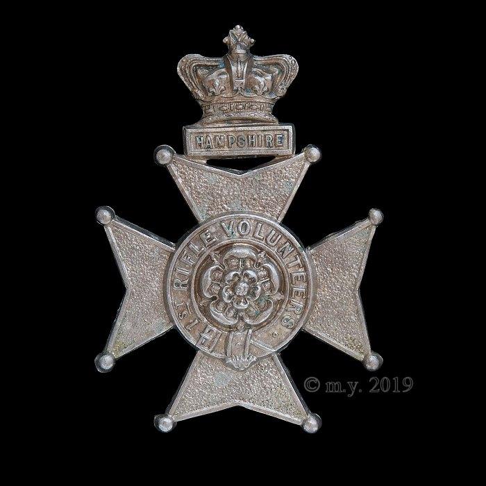 1st Hampshire Rifle Volunteers Glengarry Badge