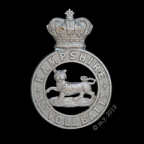 1st Volunteer Battalion Hampshire Regiment Glengarry Badge
