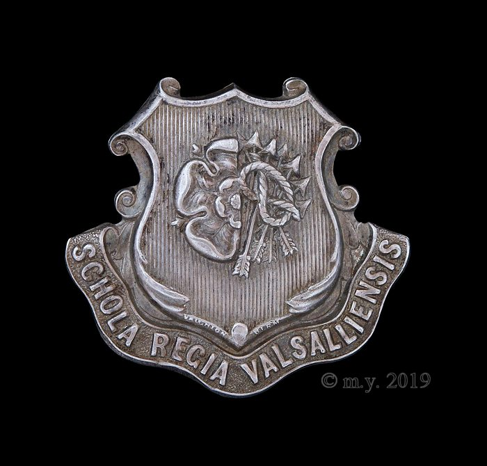 Queen Mary's Grammar School (Walsall) Officers' Training Corps Cap Badge