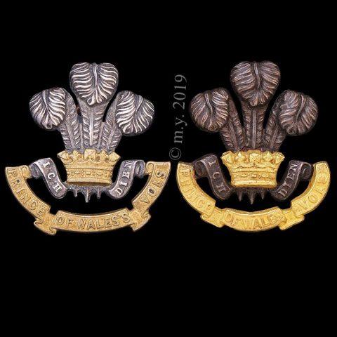 South Lancashire Regiment Officers' Collar Badges