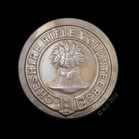 Cheshire Rifle Volunteers Uniform Button