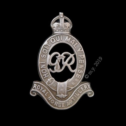 Royal Horse Artillery Cap Badge GVIR Type, 1936-52