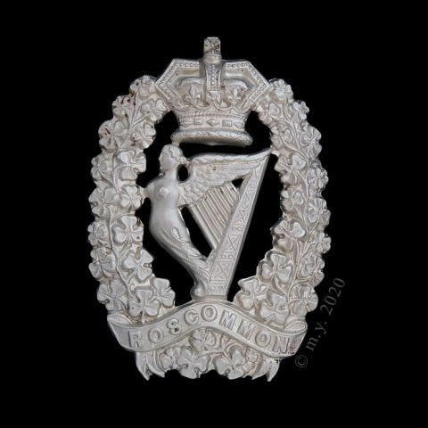 Roscommon Militia Glengarry Badge 1874-1881