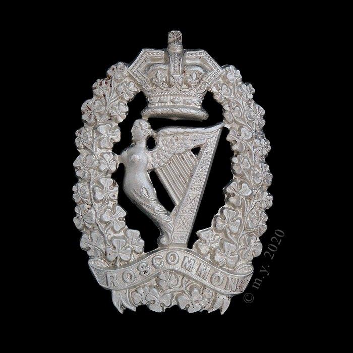 Roscommon Militia Glengarry Badge