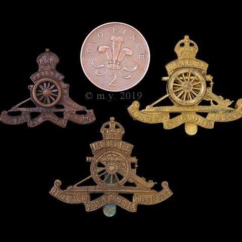 Royal Artillery Beret Badge, Other Ranks and Officer Types