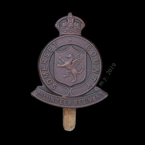 Somerset County Volunteer Regiment Cap Badge