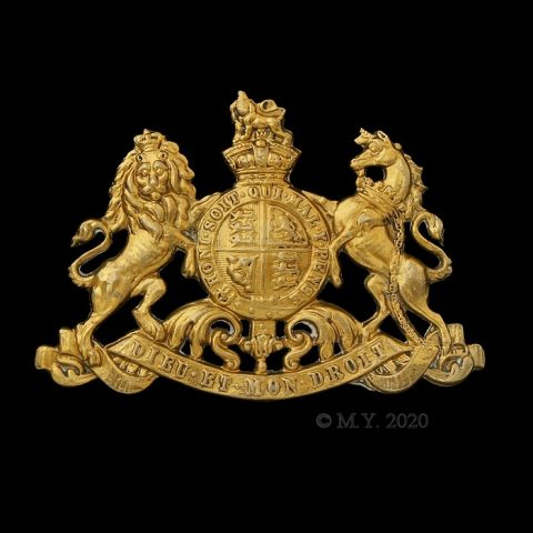 Household Cavalry Victorian Pouch Badge