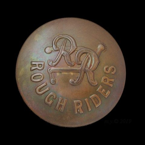 The City of London Yeomanry (Rough Riders) Uniform Button