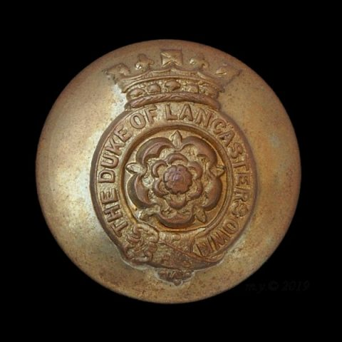 The Duke of Lancaster's Own Yeomanry Uniform Button