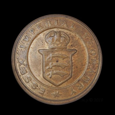 Essex Imperial Yeomanry Uniform Button