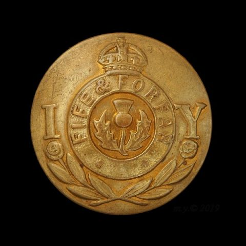 Fife and Forfar Imperial Yeomanry Uniform Button