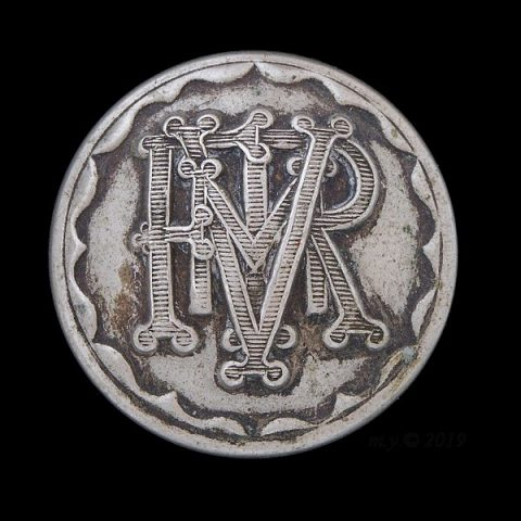 Fifeshire Mounted Rifle Volunteer Corps Uniform Button