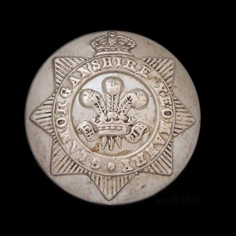 Glamorganshire Yeomanry Uniform Button