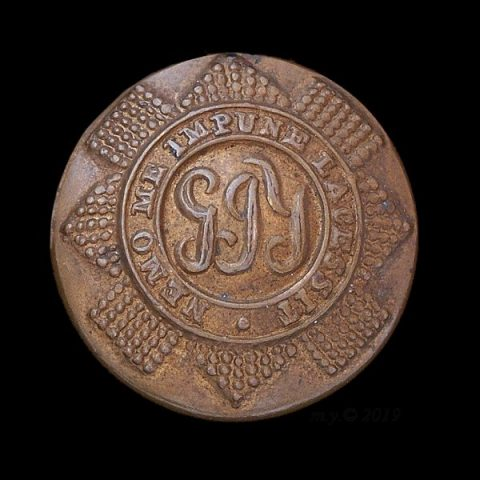 Glasgow Imperial Yeomanry Uniform Button