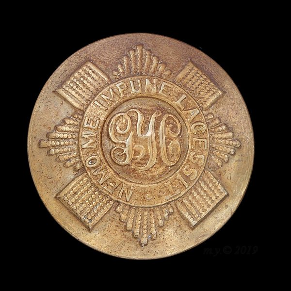 The Queen's Own Royal Glasgow Yeomanry Uniform Button