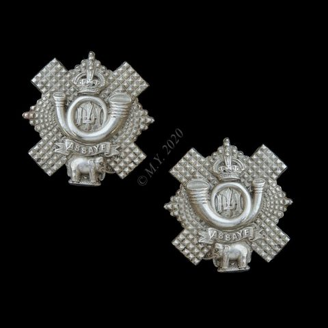 Highland Light Infantry Collar Badges
