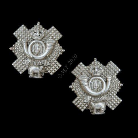 Highland Light Infantry Collar Badges