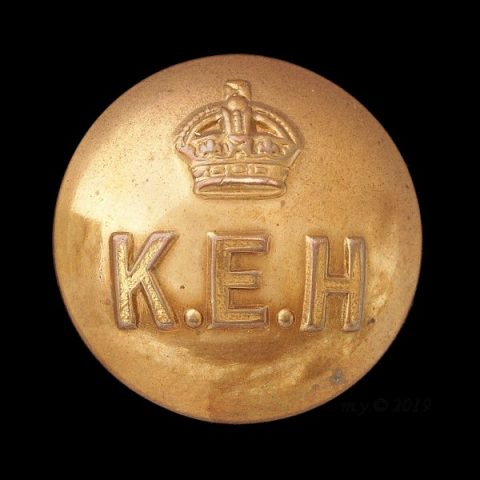 King Edward's Horse Uniform Button