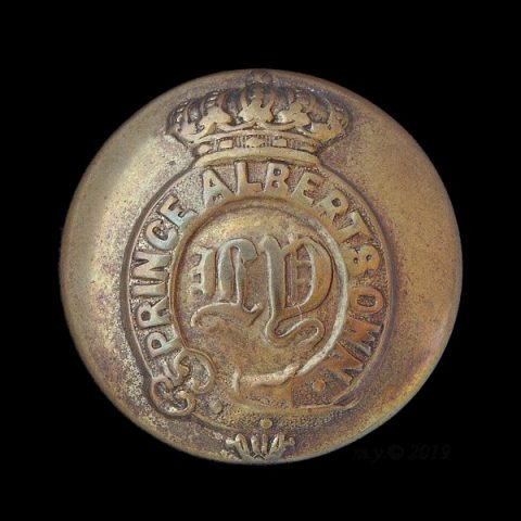Leicestershire Yeomanry (Prince Albert's Own) Uniform Button
