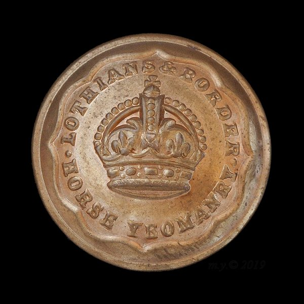 Lothians and Border Horse Uniform Button