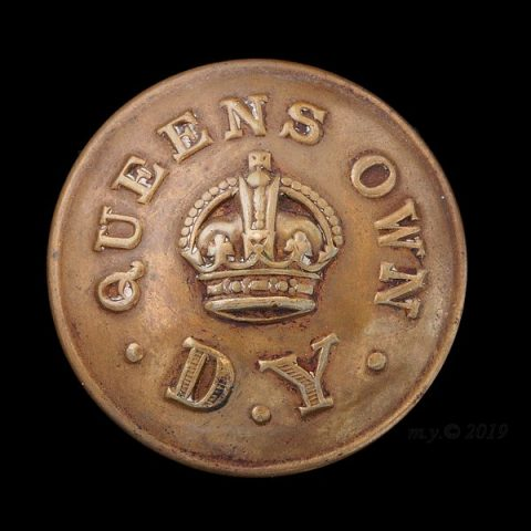 Queen's Own Dorset Yeomanry Uniform Button