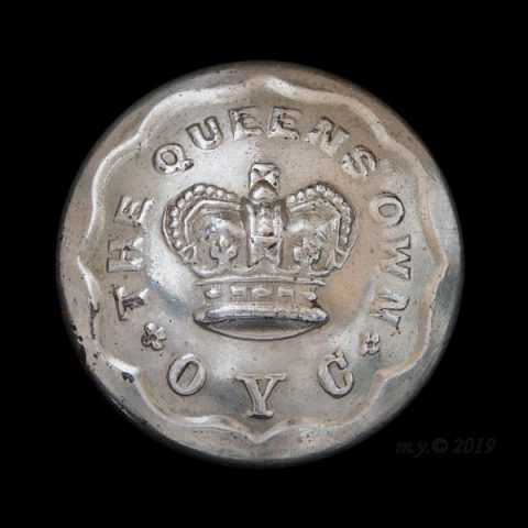 Queen's Own Oxfordshire Yeomanry Cavalry Uniform Button