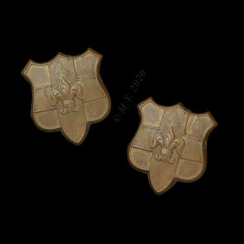 The Loyal Regiment (North Lancashire) Collar Badges